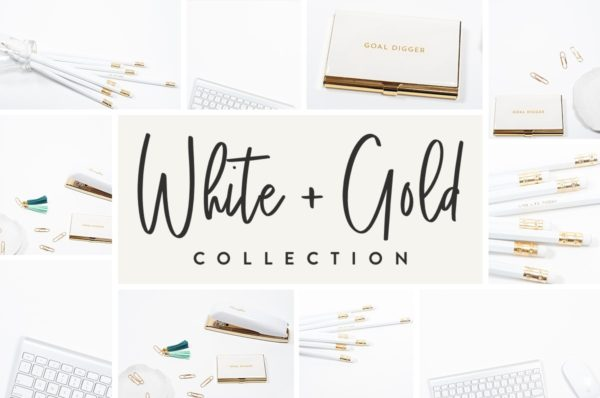 White and Gold Collection